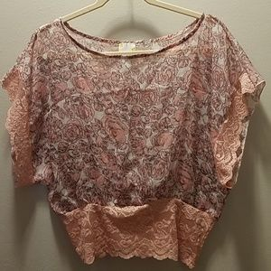 Easel floral top